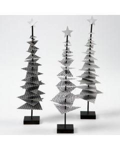 Designpapier-Weihnachtsbaum mit Standfuß