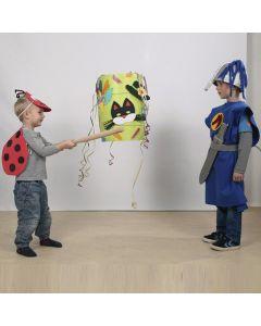 Masken und Dekorationen aus Moosgummi für Karneval/Fasching