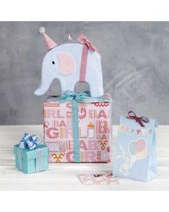 Geschenkverpackung für die Baby Shower Party