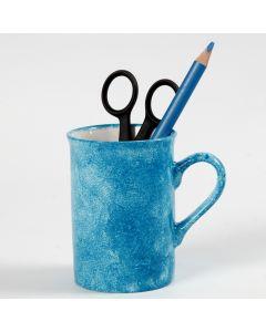 Tupf-Technik auf Porzellan