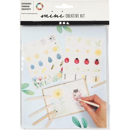 Mini-Kreativ-Set, Insekten, 1 Set