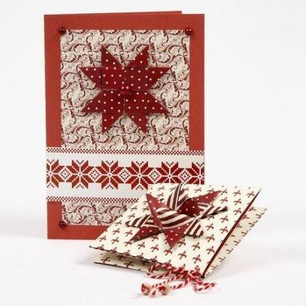 Weihnachtskarten aus Copenhagen Design-Papier