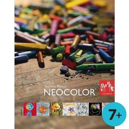Lehrbuch zum Malen mit Neocolor-Kreiden