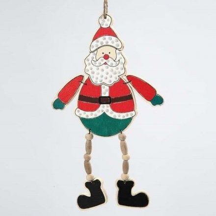 Ein Weihnachtsmann zum Aufhängen