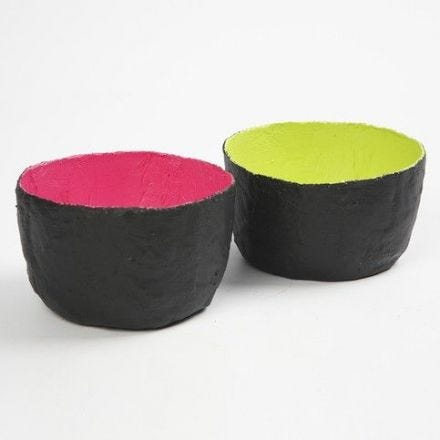 Schalen aus Gipsbandagen