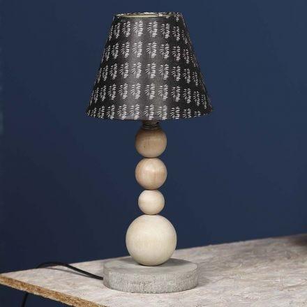 Neues Leben für eine gebrauchte alte Lampe