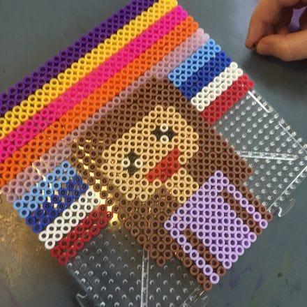 Pixel-Kunst mit Nabbi Fuse Beads (Bügelperlen)