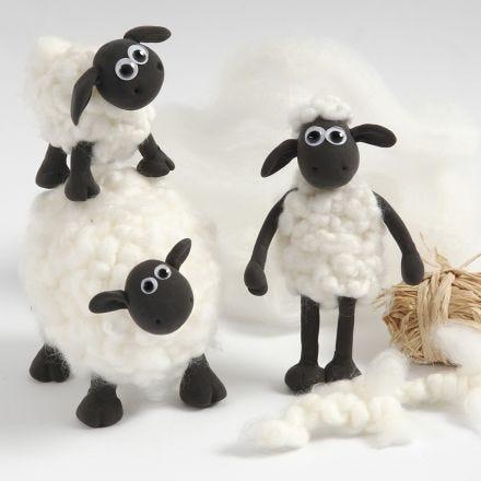 Shaun das Schaf - selbst modelliert