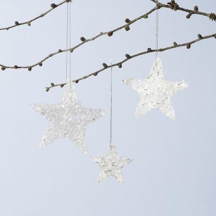Sternenglanz aus Sticky Base und Schneeglitter