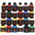 Pigment Art School-Farbe, Sortierte Farben, 24x500 ml/ 1 Pck.