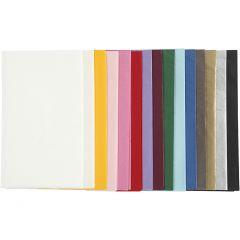 Seidenpapier, 50x70 cm, 17 g, Sortierte Farben, 15x2 Bl./ 1 Pck