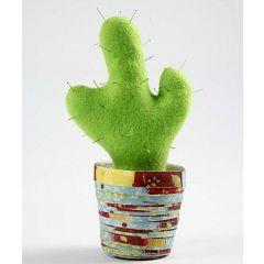 Kaktus im Papiertopf