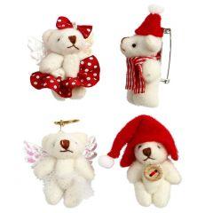 Teddy-Broschen