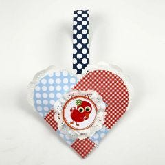 A Christmas Heart from London Design Paper