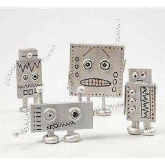 Roboter aus Holz