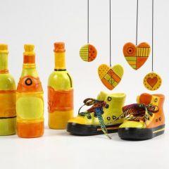 Spardosen Stiefel/Flaschen