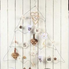 Weihnachtsbaum aus Bonsaidraht