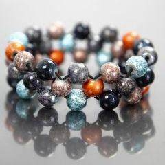 Elastisches Armband, hergestellt aus Fashion Mix-Perlen