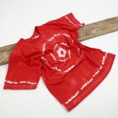 T-Shirt mit Batik-Design