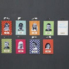 Laminiertes Glanzpapier für Namensschilder mit Foto