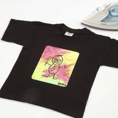 Technik-Lektion: Transfer-Design und Stoffmalfarbe auf T-Shirt