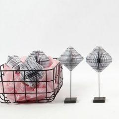 Buchfaltung aus einem Block der Vivi Gade Design Serie