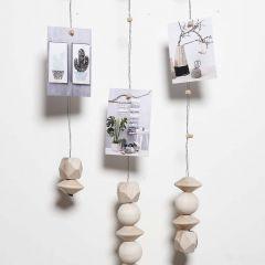 Mobile aus Blumendraht mit Magneten zum Befestigen von Deko-Elementen
