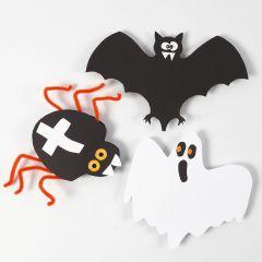 Halloween-Figuren aus Karton