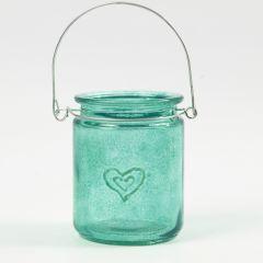 Relief-Technik auf Glas