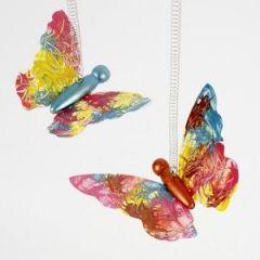 Schmetterlinge verzieren
