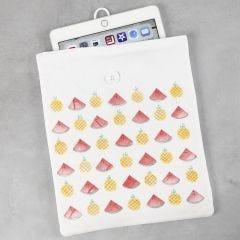 Tablet-Schutzhülle mit Früchte-Design