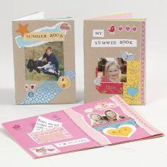 Ein individuelles Memory-Buch aus Karton und Papier