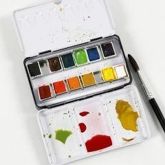 Wie man Wasserfarben mischt