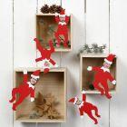 Märchenfiguren aus Karton, personalisiert mit Fotos der Familie