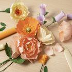 Für Anfänger: Lernen Sie, wie man aus Krepppapier schönste Blumen kreiert