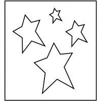 Stanzformen, Sterne, Größe 14x15,25 cm, Dicke 15 mm, 1 Stk