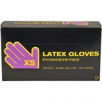 Latex-Handschuhe, Größe x-small , 100 Stk/ 1 Pck