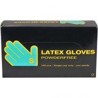Latex-Handschuhe, Größe small , 100 Stk/ 1 Pck