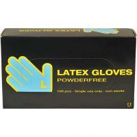 Latex-Handschuhe, Größe large , 100 Stk/ 1 Pck