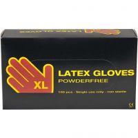 Latex-Handschuhe, Größe x-large , 100 Stk/ 1 Pck