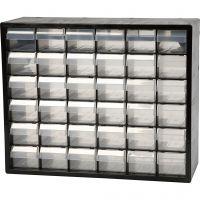 Schubladenregal, Nr. PC 36, Größe 33x40,7x14,1 cm, 1 Set