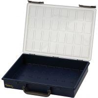 Sortimentskasten, ohne Einsetzkästchen , H: 8 cm, Größe 33,8x26,1 cm, 1 Stk