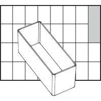 Einsetz-Box, Nr. A9-2, H: 47 mm, Größe 109x39 mm, 1 Stk