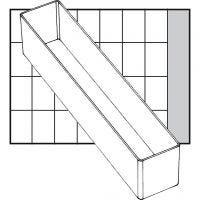 Einsetz-Box, Nr. A9-4, H: 47 mm, Größe 218x39 mm, 1 Stk