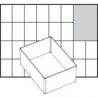 Einsetz-Box, Nr. A7-1, H: 47 mm, Größe 109x79 mm, 1 Stk
