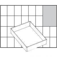 Einsetz-Box, Nr. A71 Low, H: 24 mm, Größe 109x79 mm, 1 Stk