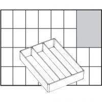 Einsetz-Box, Nr. A73 Low, H: 24 mm, Größe 109x79 mm, 1 Stk