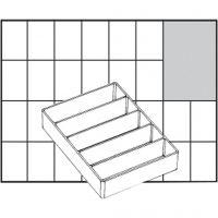 Einsetz-Box, Nr. A75 Low, H: 24 mm, Größe 109x79 mm, 1 Stk