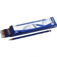 Robinson Bleistifte, D: 6,8 mm, Stärke B, Mine 2 mm, 12 Stk/ 1 Pck
