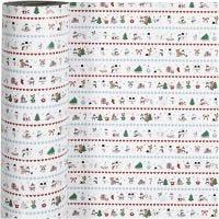 Geschenkpapier, Weihnachtsspaß am Nordpol, B: 57 cm, 80 g, 150 m/ 1 Rolle